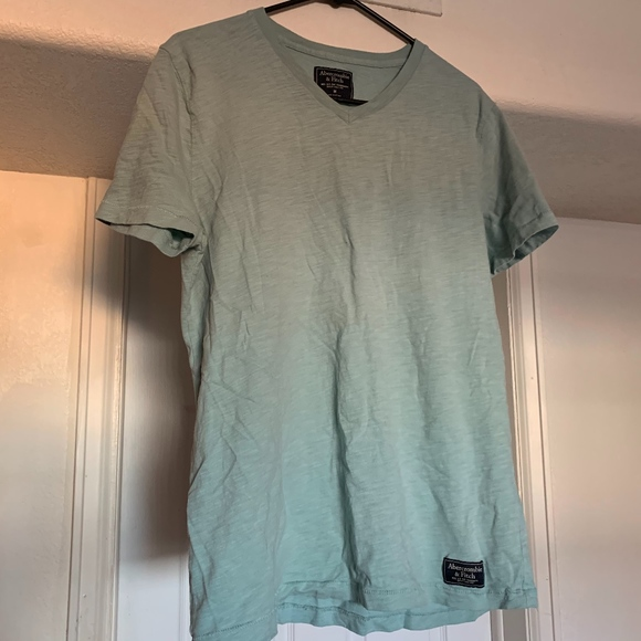 Abercrombie & Fitch Other - Abercrombie & Fitch Mint Green V-neck Tee